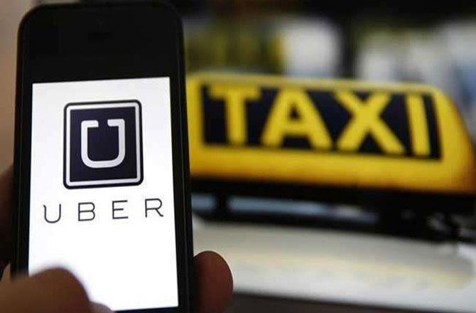 (آن لائن ٹیکسی سروس اوبر (تصویر: جاگرن
