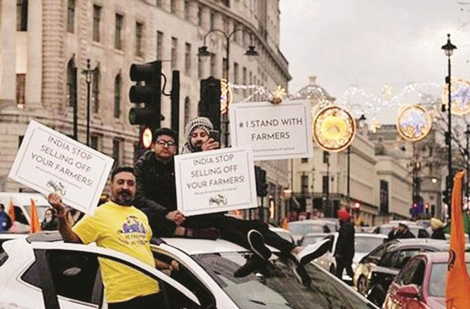London Protest - Pic : Agency