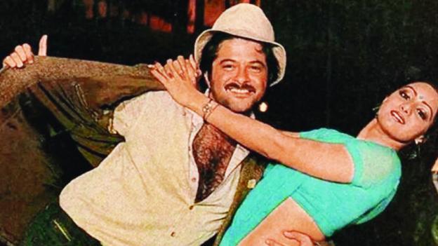 """<p style=""""text-align: right;"""">جتیندر کے بعد سری دیوی کوانل کپورکے ساتھ بہت پسند کیا گیا ۔سری دیوی اور انل کپورجوڑی نے بالی ووڈ میں کئی ہٹ فلمیں دیں۔</p>"""