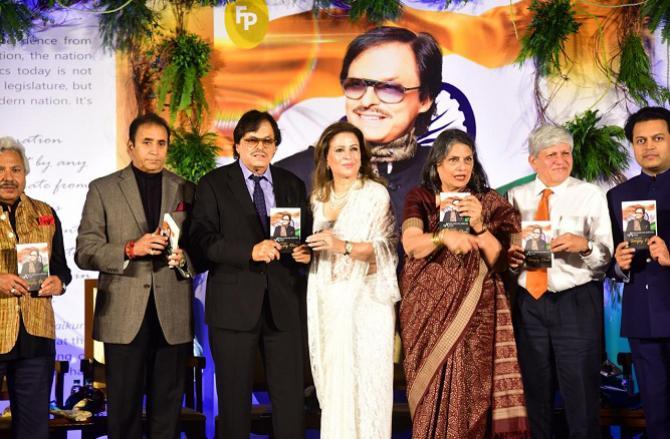 سنجے خان کی کتاب 'السلام علیکم وطن' کا اجراء