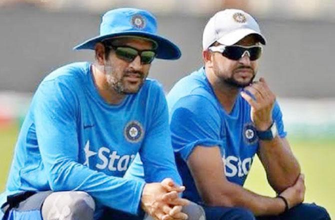 سریش رائنا نے دھونی کو ہندوستانی کرکٹ ٹیم کا بیسٹ کپتان قرار دیا