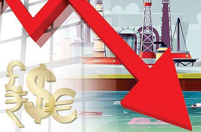 معاشی مندی بمقابلہ کوٹ جیکٹ ۔ تصویر : آئی این این