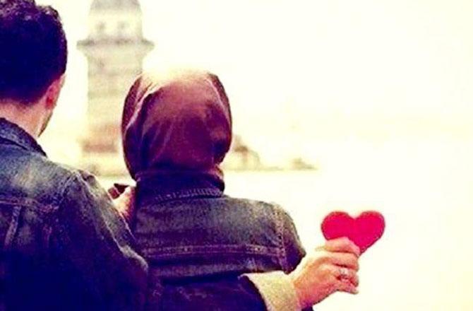 اسلام نے محبت کی تمام راہیں متعین فرما دی ہیں ۔ تصویر : آئی این این