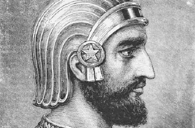 سائرس نے ایران میں ہخامنشی سلطنت کی بنیاد رکھی تھی