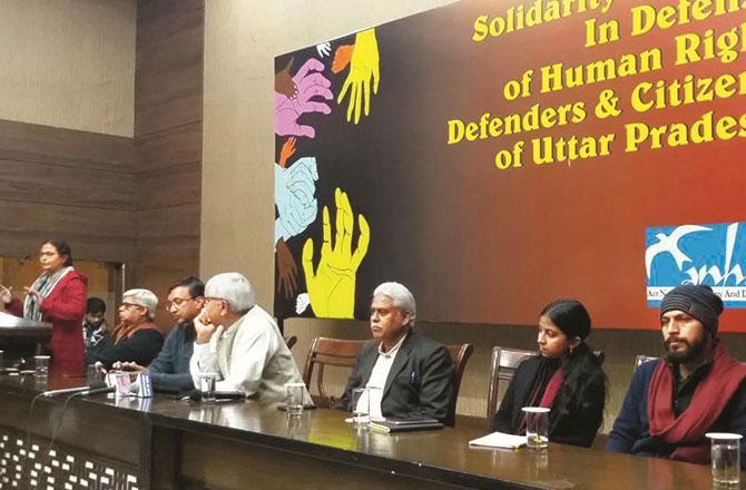 دہلی  میں منعقدہ کانفرنس میں اظہار یکجہتی کا اعلان