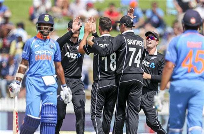 ٹیم انڈیا اور نیوزی لینڈ کے درمیان دوسرا ٹی ۲۰ میچ آج ۔ تصویر : آئی این این