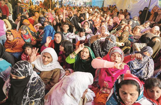 شاہین باغ کی پرعزم خواتین جمہوریت کی سچی پاسبان