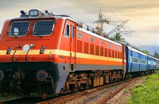 راجیہ رانی ایکسپریس اب ناندیڑ سے ممبئی چلائی جائے گی ۔ تصویر : آئی این این