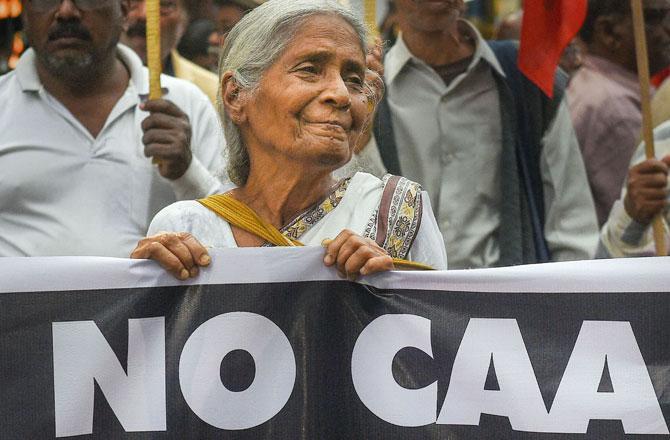 CAA Protest - Pic : INN