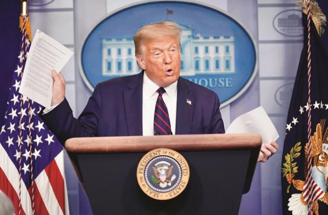 Donald Trump Photo: INN