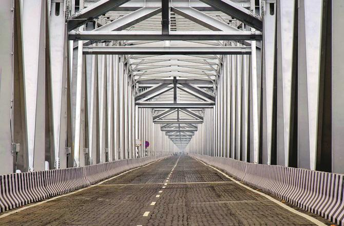 Gandhi Bridge in Patna. Photo: INN