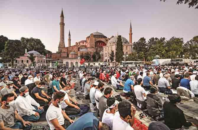 Hagia Sofia Mosque - Pic : PTI