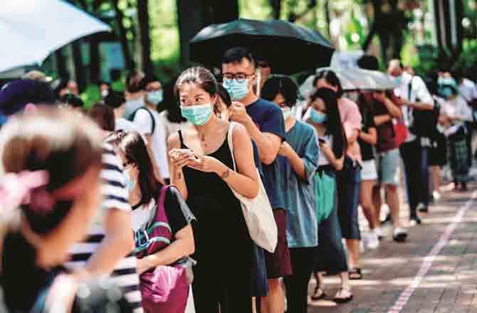 Hong Kong - Pic : PTI
