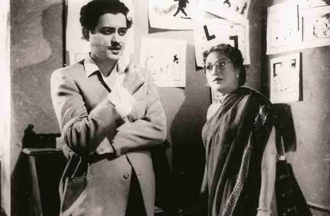 Lalita Pawar and Gutu Datt