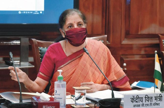 Nirmala Sitahaaman. Photo: INN