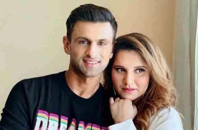 Shoaib Malik and Sania Mirza - Pic : INN