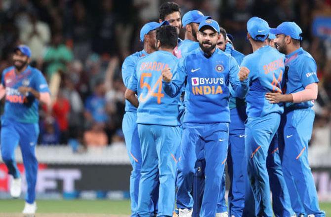Team India - Pic : PTI