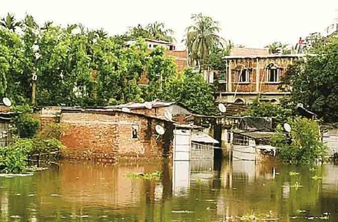 Kishanganj Flood - Pic : Inquialb