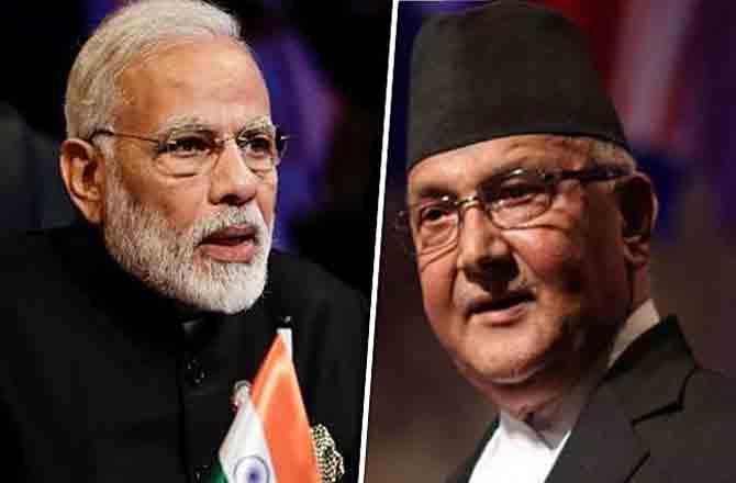 Modi and Oli - Pic : INN