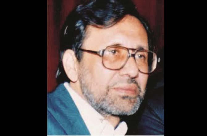 Abdul Ahad Saaz. Photo Inquilab