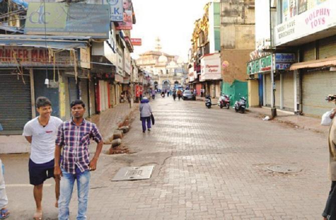 Mumbai roads are empty due to coronavirus. Photo Inquilab