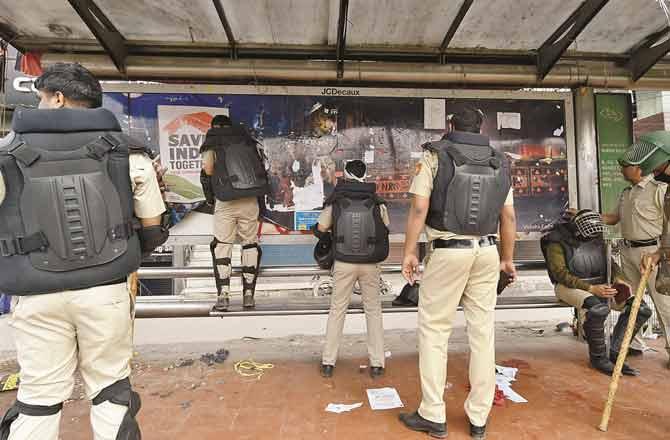 Delhi Police - Pic : PTI