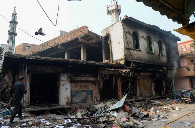 Delhi Riots - Pic : PTI