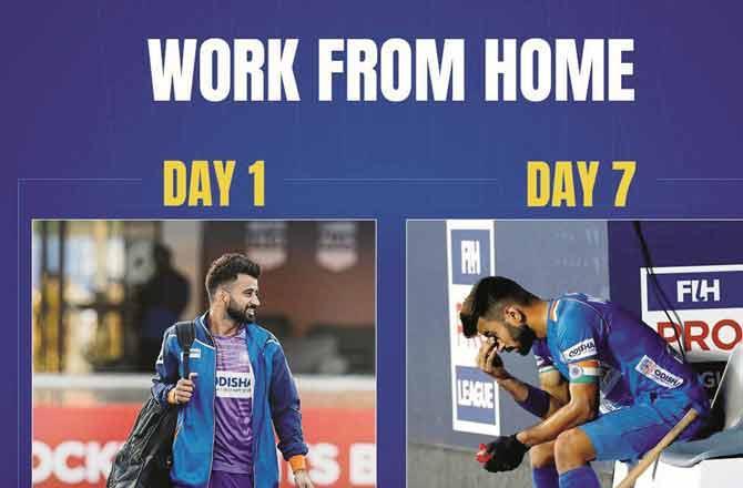 Hockey India Player - Pic : Twitter