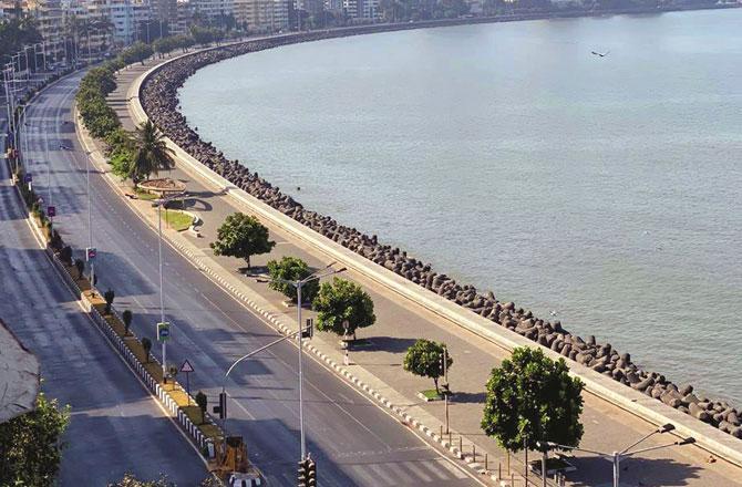 Marine Drive - Pic : PTI