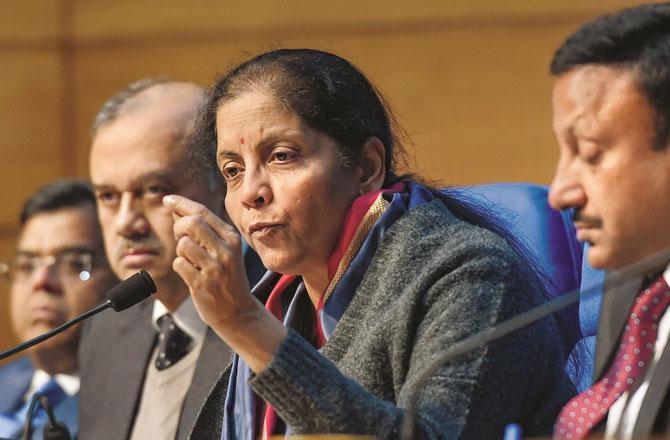 Nirmala Sitharaman - Pic : INN
