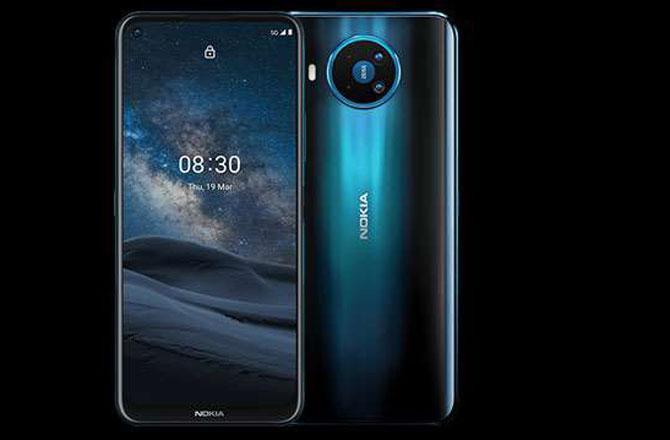 Nokia 5 G Smartphone - Pic : INN