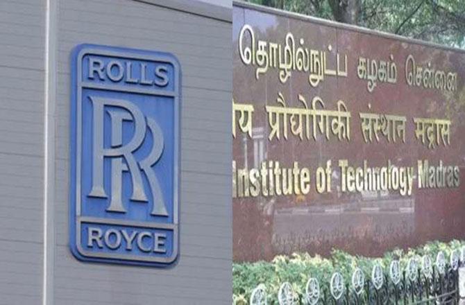 Rolls Royce and IIT Madaras - Pic : INN
