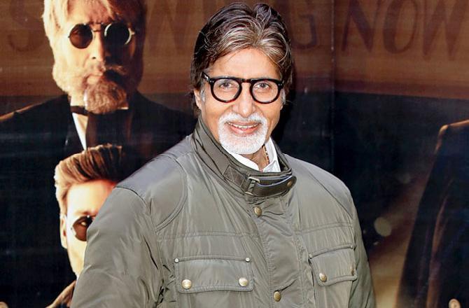 Amitabh Bachchan Photo: Midday