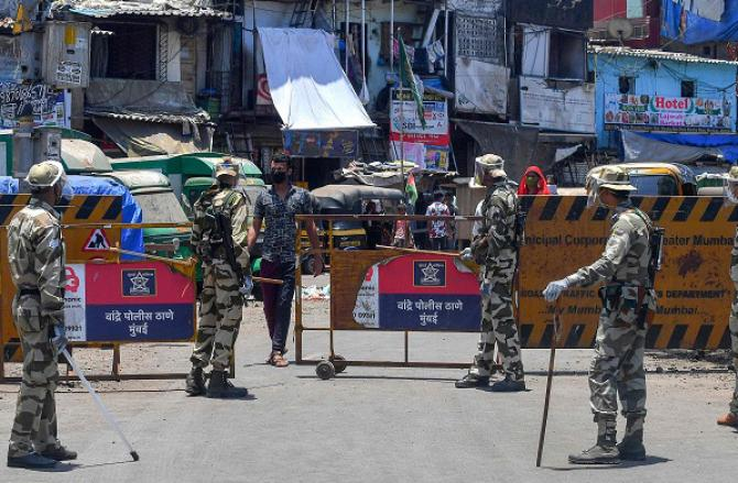 Security personnel. Photo: PTI