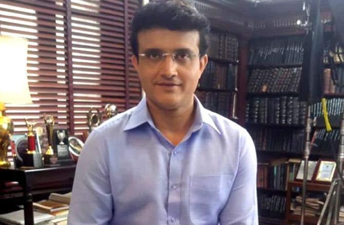 Sourav Ganguly. Photo: INN