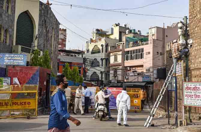 Lockdown - Pic : PTI