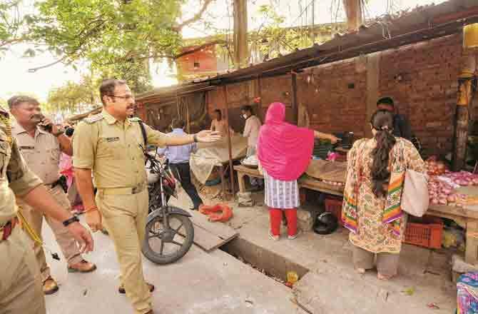 Lockdown Lucknow - Pic : PTI