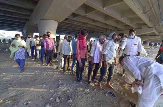 Migrant - Pic : PTI