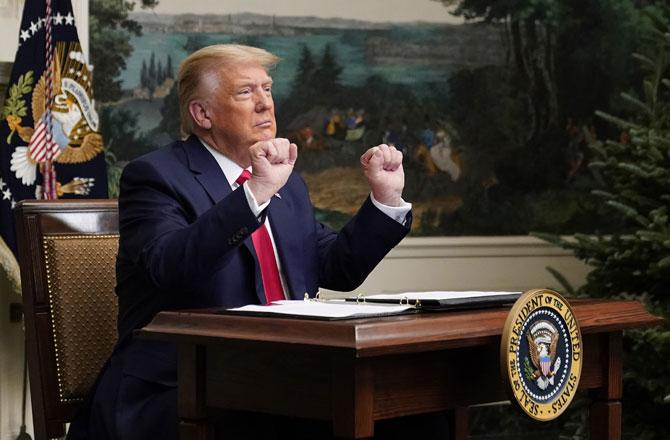 Donald Trump - Pic : PTI