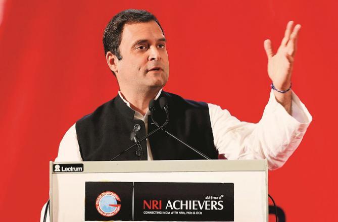 Rahul Gandhi Photo: INN