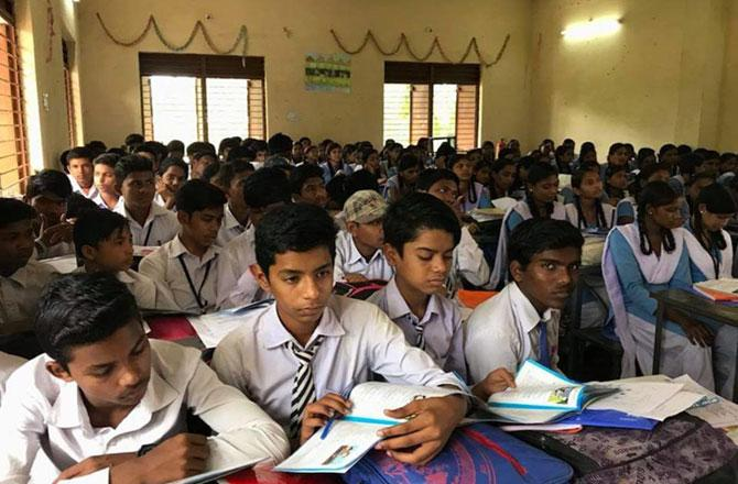 School Classroom - PIC : INN