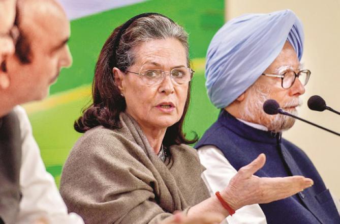 Sonia Gandhi Photo: INN