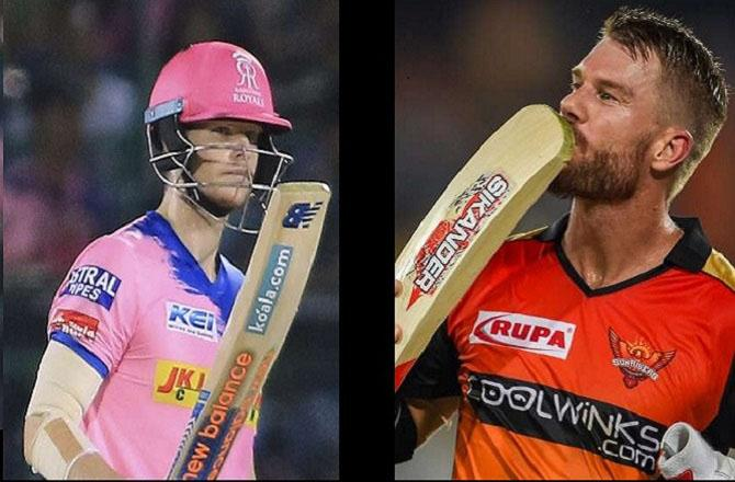 Rajasthan Royals and Sunriser Hyderabad, . Pictuer :INN