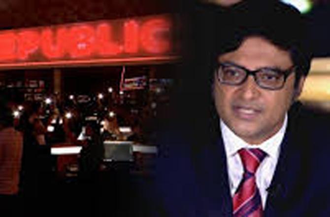 Arnab Goswami - Pic : INN