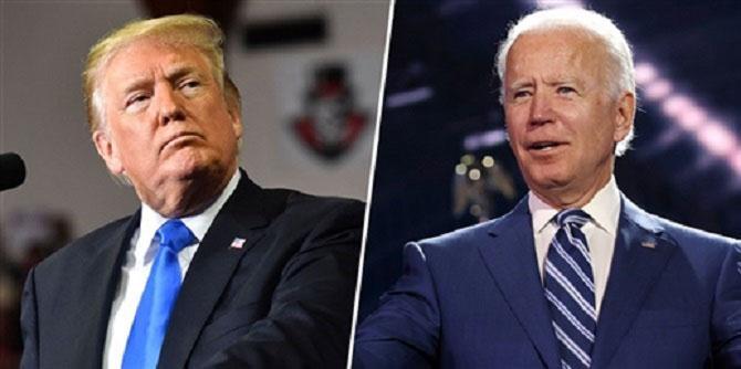 Donald Trump And joe Biden .Picture :INN