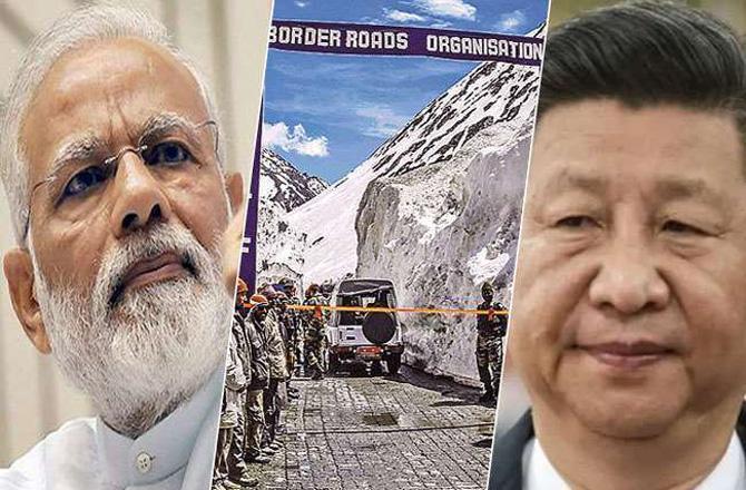 India VS China - Pic : INN