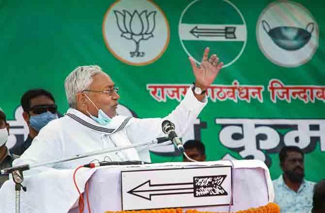 Nitish Kumar - Pic : PTI