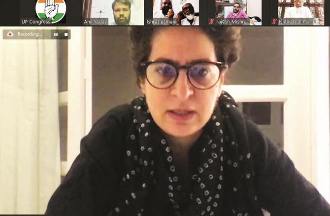 Priyanka Gandhi - Pic : INN