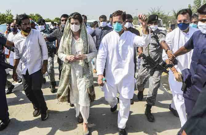 Rahul Gnadhi and Priyanka Gandhi - PIC : PTI
