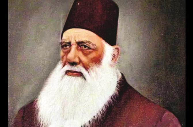 Sir Syed Ahmed Khan Photo: INN